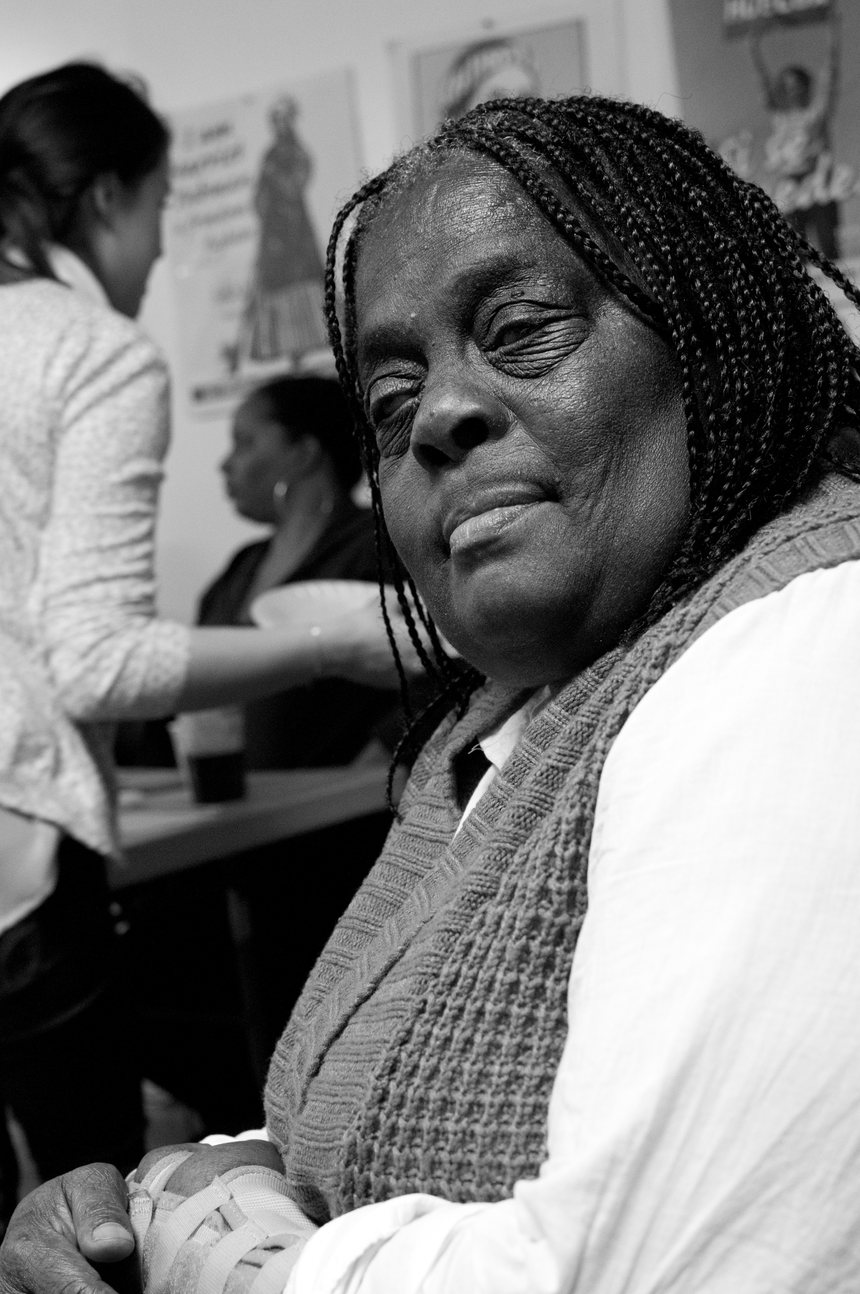 STOLEN LIVES & RESURRECTION : JUANITA YOUNG RESURRECTS MALCOLM FERGUSON IN MEETINGS FOR NO MORE LIVES TO BE STOLEN MARCH 1 2000 - PRESENT