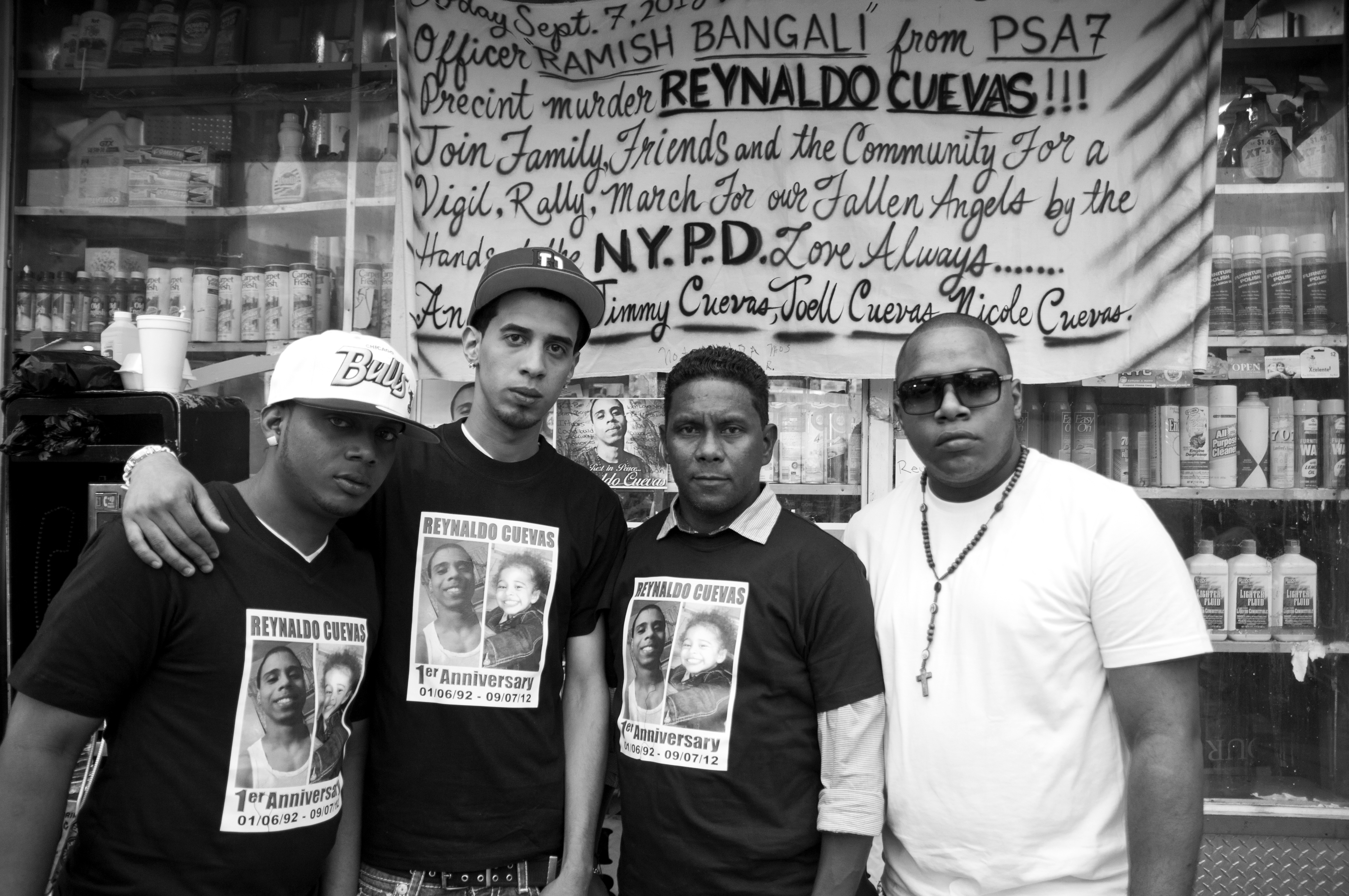 STOLEN LIVES & RESURRECTION : REYNALDO CUEVAS HAS FAMILY OF FRIENDS THAT RESURRECTS HIM THROUGH STANDING EACH OTHER SEPTEMBER 7, 2012 - PRESENT